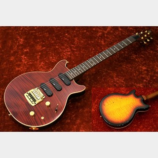 Kz Guitar Works Kz One Semi-Hollow 3S11 Kahler -Ruby Red VOS- Custom Line5Aフレイムトップ&5Aキルトバック【町田店】