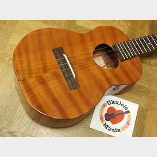 Koaloha Custom Curly Redwood (Cedar) Top Curly Sapele Mahogany Tenor Ukulele #3570
