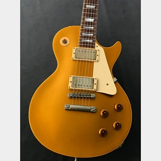 Gibson Custom Shop Historic Collection 1957 Les Paul Gold Top Custom Authentic (2002年製Used) Antique Gold