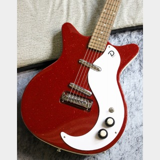 "Danelectro 【オススメビザール!!】【Tシャツプレゼント!!】59 ""M"" N.O.S + ~METALFLAKE RED~ #081901 【2.92kg】"
