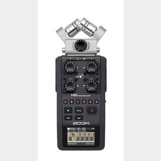 ZOOM H6 Black Edition ハンディレコーダー Handy Recorder