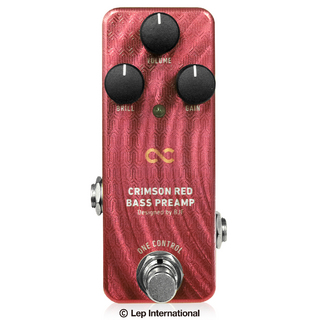 ONE CONTROL CRIMSON RED BASS PREAMP 【御茶ノ水本店】