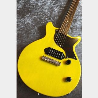 Kz Guitar Works 【最終日限定特価】Custom Order Kz One Solid P-90 Double Cut TV Yellow All Lacquer VOS #20190172