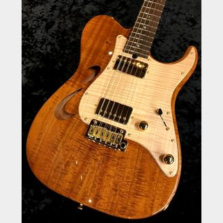 "T's Guitars DTL-Hollow22 ""Indian Rosewood Neck,Koa Top""【Custom Order Model】【セミホロウ】"