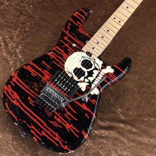 Charvel WARREN DEMARTINI SIGNATURE BLOOD AND SKULL PRO MOD【USED】