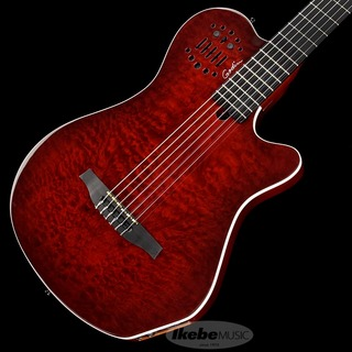 Godin ACS Grand Concert Quilt, Trans Red SA(Synth-Acces) [SN.19012159]ラストの入荷!