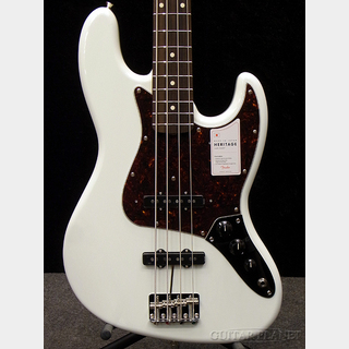 Fender Made In Japan Heritage 60s Jazz Bass - Olympic White -【#JD20001673】【4.06kg】