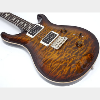 Paul Reed Smith(PRS) Custom24 10Top 1piece Quilted Maple / Black Gold Wraparound Burst