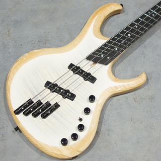 Overload Custom Guitars TAURUS4 MULTISCALE/TRANS WHITE