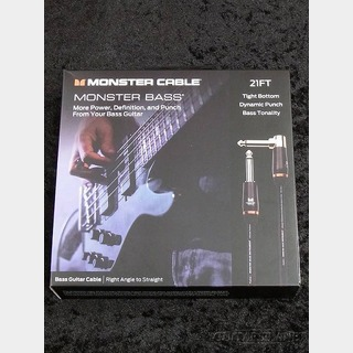 Monster Cable M BASS2 21ft (6.4m) S/L【ベース用シールド】【MONSTER BASS】