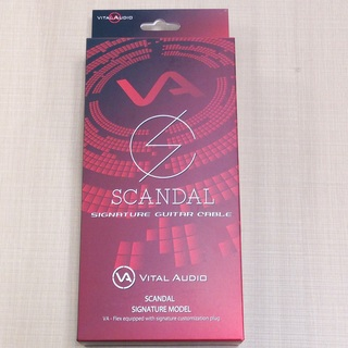 Vital AudioVA-Flex/SD 3m S/L(ショート/ロング) SCANDAL Signature Model Cable【数量限定特価】