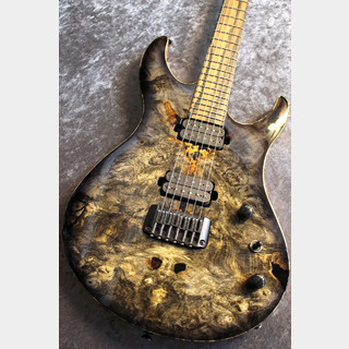 Acacia Guitars Romulus Custom Shop Buckeye Burl Top Black Burst  #2031 【2020NAMM SHOW現地選定品】【動画有】
