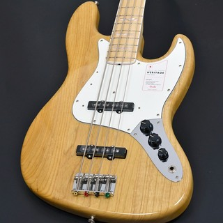 Fender Made in Japan Heritage 70s Jazz Bass Maple Fingerboard Natural 【S/N:JD20011488】【福岡パルコ店】