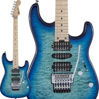 Charvel MJ San Dimas Style 1 HSH FR M QM (Caribbean Burst) [Made In Japan]