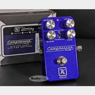 Keeley Compressor Plus LTD Royal Blue 【Keeley ベースボールキャッププレゼント!】