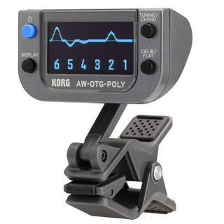 KORGPOLYPHONIC CLIP-ON TUNER [AW-OTG-POLY/ギター用]