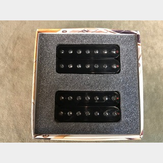 Bare Knuckle Pickups Aftermath 7 String Set -Open Black- 【7弦用ハムバッカーセット】【ショッピングクレジット無金利】