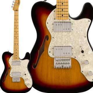 Squier by Fender Classic Vibe '70s Telecaster Thinline 3-Color Sunburst