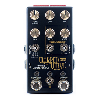 Chase Bliss Audio WARPED VINYL HiFi 【Analog Vibrato/Chorus】