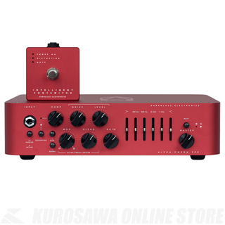 "Darkglass Alpha Omega 900 Limited Edition ""RED""【限定品】【ご購入の方にMicrotubes Xをプレゼント!】"