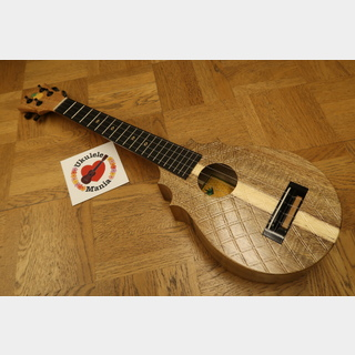 "Koaloha ""Pops"" Papaloha Acacia Tenor Pineapple Sunday Ukulele #3939"