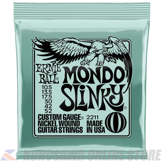 ERNIE BALL #2211 Mondo Slinky Nickel Wound Electric Guitar Strings 10.5 - 52 Gauge【ネコポス】