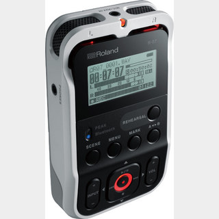 Roland R-07-WH (ホワイト) High Resolution Audio Recorder