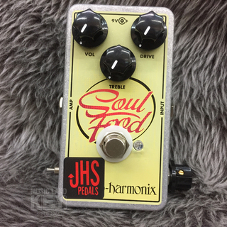 "JHS Pedals Soul Food ""Meat & 3"" Mod. 【3wayスイッチ&""Meat""ノブ搭載!】"