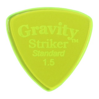 Gravity Guitar PicksStriker -Standard- GSRS15P 1.5mm Fluorescent Green ピック