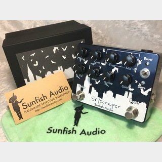 "Sunfish AudioOverDrive / Booster ""Skyscraper"" ☆送料無料、暫定継続中…!!☆"