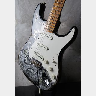 Fender Custom Shop Staratocaster Ltd Mischief Maker Heavy Relic / Black  paisely