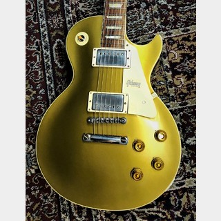 Gibson Custom Shop Historic Collection 1957 Les Paul Gold Top Reissue Double Gold Dark Back VOS #791298【3.88kg】