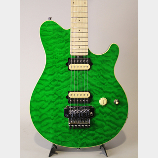 Sterling by MUSIC MAN AX40D Trasnslucent Green