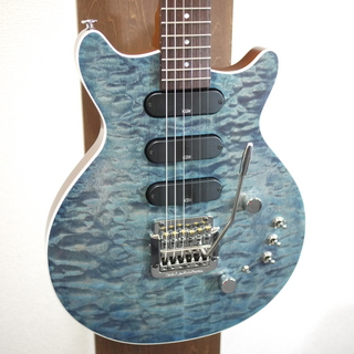 Kz Guitar Works Kz One Solid 3S23 Kahler See-through Blue #20180058
