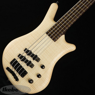 "Warwick Custom Shop Thumb Bass Bolt-on 5st ""Selected 1"" French flamed ash AAA Top/Natural Oil Finish"""