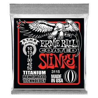 ERNIE BALL3115 Skinny Top/ Heavy Bottom Slinky Coated Titanium RPS 10-52 Gauge エレキギター弦