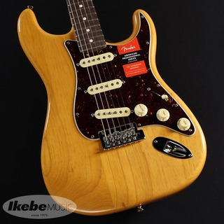 Fender Limited Edition Lightweight Ash American Professional Stratocaster (Aged Natural) [Made In USA]