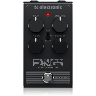 tc electronic FANGS METAL DISTORTION ※国内正規品 【7月中入荷予定・予約受付中】