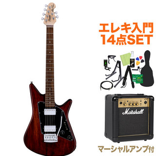 Sterling by MUSIC MAN ALBERT LEE SIGNATURE TWN エレキ初心者14点セット【マーシャルアンプ付き】