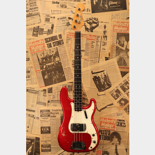 "Fender 1965 Precision Bass ""Original Candy Apple Red"""