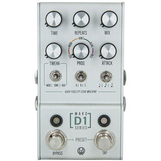 WALRUS AUDIO D1 [High-Fidelity Stereo Delay] 【MAKO Series 】 ※2月28日発売予定