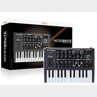 Arturia MicroBrute 【決算ラストセール!!新品大特価!!】【ローン分割手数料0%(6回迄)】