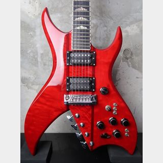 B.C.Rich USA Bich 10 Strings Trans Red