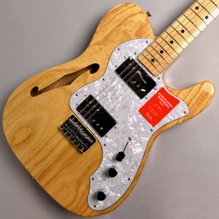 Fender MADE IN JAPAN TRADITIONAL 70S TELECASTER THINLINE Natural #JD19015251【日本製】【送料無料】