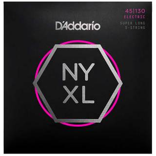 D'Addario NYXL45130SL NYXL Bass Regular Light 45-130 Super Long Scale 5弦 【池袋店】