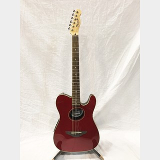 Squier by Fender Telecoustic Candy Apple Red 【中古品】
