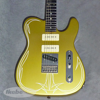 NO BRAND Rabbit was Custom Tele Model #3 (Champagne Gold) 【中古】