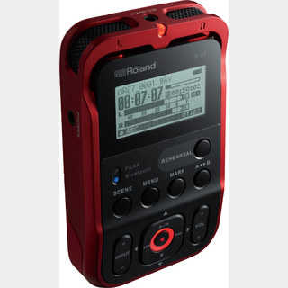 RolandR-07(RED)[High Resolution Audio Recorder]