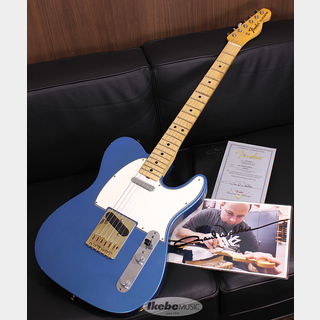 Fender Custom Shop MBS 1967 Telecaster Journeyman Relic Lake Placid Blue Master Built By Paul Waller S/N R106811