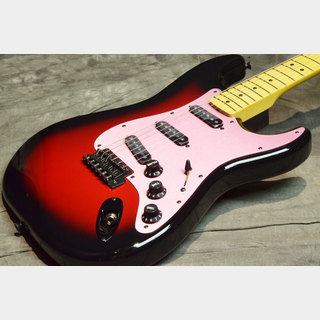 Fender Japan Exclusive Ken Stratocaster Galaxy Red 【S/N:JD18000943】【横浜店】